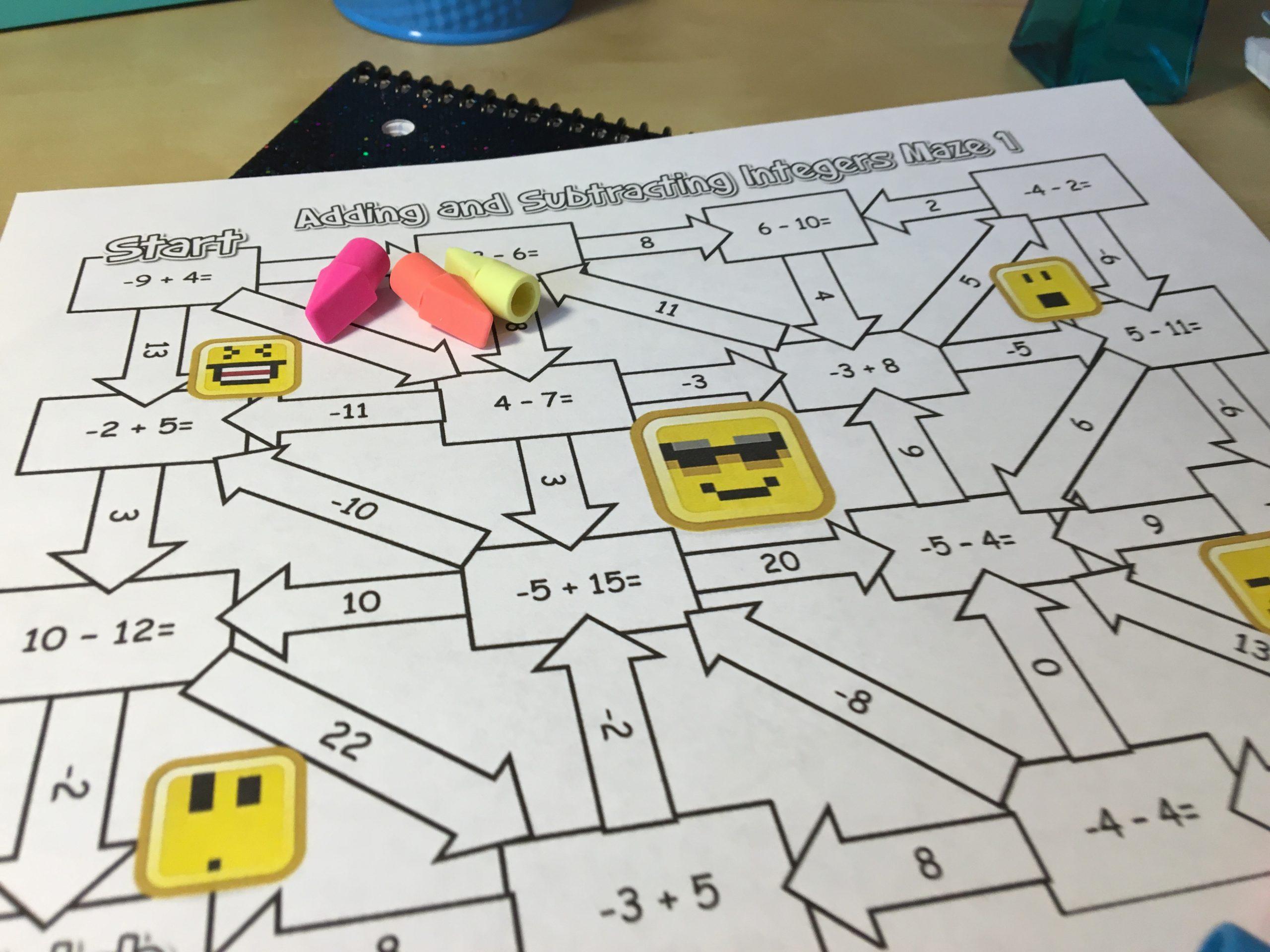 12 Engaging Ways To Practice Adding Integers Idea Galaxy