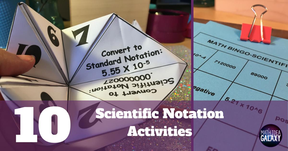 10 Activities To Make Practicing Scientific Notation Awesome Idea. 10 Activities To Make Practicing Scientific Notation Awesome Idea Galaxy. Worksheet. Worksheet 9 05 Scientific Notation Puzzle At Clickcart.co