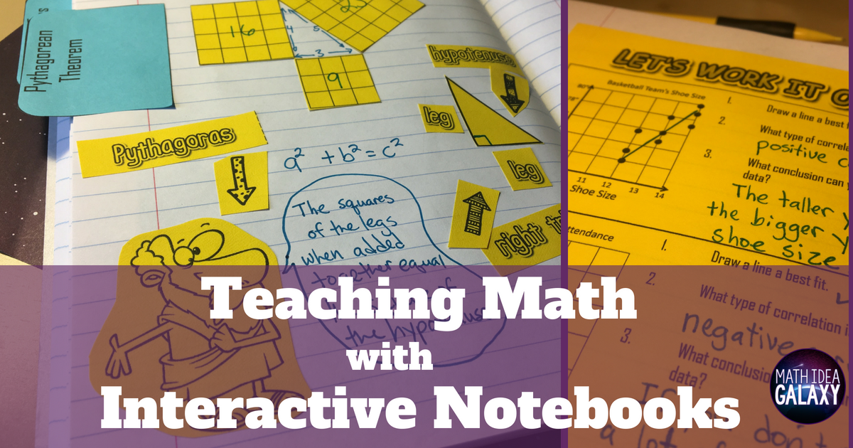How to Teach Math with Interactive Notebooks - Idea Galaxy
